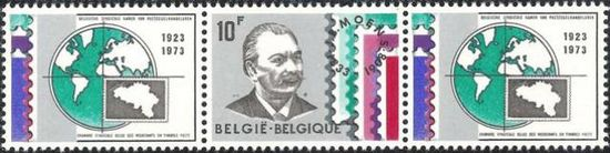 Belgium 1973 Belgian Stamp Dealers Association H1.jpg