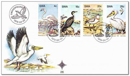South West Africa 1979 Water Birds fdc.jpg