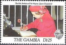 Gambia 1991 QEII 65th Birthday c.jpg