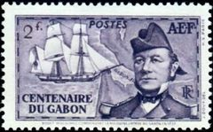 French Equatorial Africa 1938 Founding of Gabon Colony - Centenary d.jpg