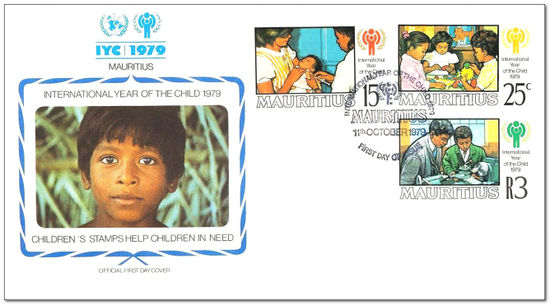 Mauritius 1979 Year of the Child fdc.jpg