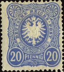 Germany-Empire 1889 Definitives - Figure and Imperial Eagle e 20pf.jpg