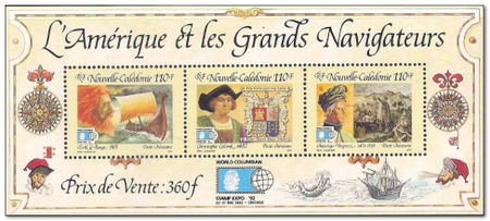 New Caledonia 1992 World Columbian Stamp Expo 92 ms.jpg