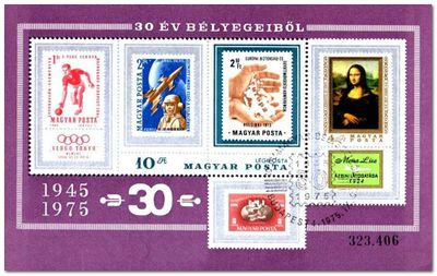 Hungary 1975 Hungarian Stamps ms.jpg