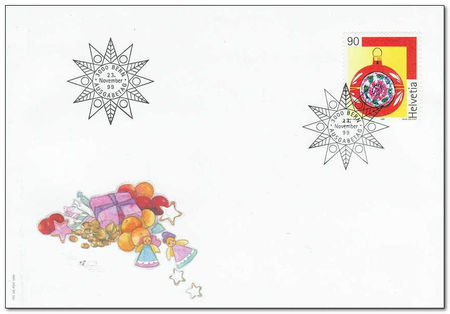 Switzerland 1999 Christmas fdc.jpg