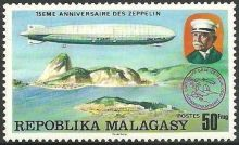 Malagasy Republic 1976 75th anniversary of the Zeppelin b.jpg