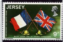 Jersey 1971 Royal British Legion Anniversary 9p.jpg