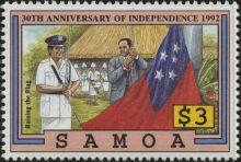 Samoa 1992 Independence, 30th Anniversary d.jpg