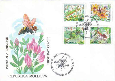 Moldova 1997 Endangered Insects fdc a.jpg