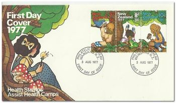 New Zealand 1977 Health Stamps fdc.jpg