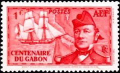 French Equatorial Africa 1938 Founding of Gabon Colony - Centenary b.jpg