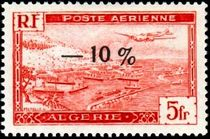 Algeria 1947 Airmails - Surcharged -10% a.jpg