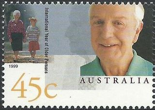 Australia 1999 International Year of the Older Person stamp a.jpg