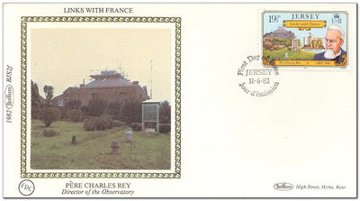 Jersey 1982 Links with France 1FDC.jpg