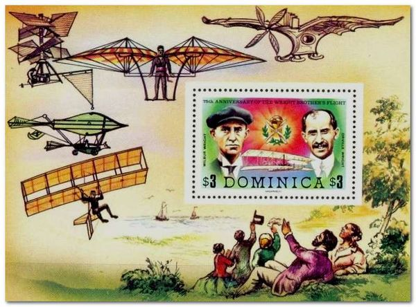 Dominica 1978 Wright Brothers Anniversary MS.jpg