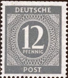 Germany-Allied Occ 1946 American, British & Russian Zone Definitives 12pf.jpg
