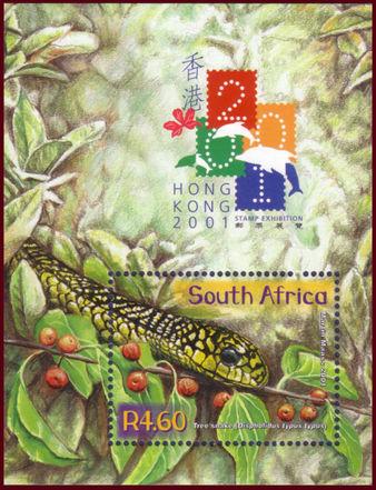 (原创)南非生肖邮票2:龙蛇马 - 六一儿童 - 译海拾蚌
