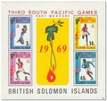 British Solomon Islands 1969 South Pacific Games . ms.jpg