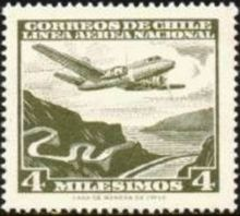 Chile 1960 Airmail - Aircrafts 4m.jpg