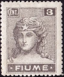 Fiume 1919 Definitives - Allegories b.jpg