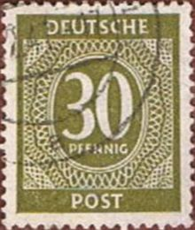 Germany-Allied Occ 1946 American, British & Russian Zone Definitives 30pf.jpg