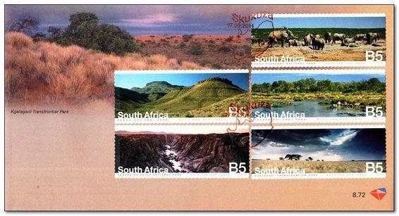 (原创)看邮票识南非48:南非国家公园 - 六一儿童 - 译海拾蚌