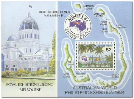 Cocos (Keeling) Islands 1984 Ausipex Stamp Exhibition ms.jpg