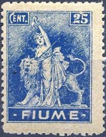 Fiume 1919 Definitives - Allegories g.jpg