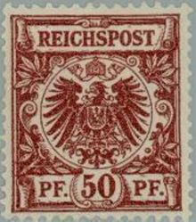 Germany-Empire 1889 Definitives - Figure and Imperial Eagle 50pf.jpg