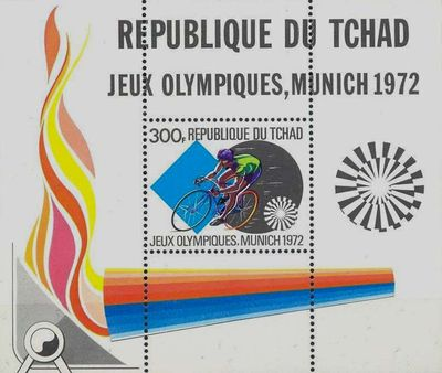 Chad 1972 Olympic Games - Munich MS.jpg