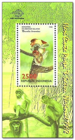 Indonesia 1998 Flora and Fauna 1ms.jpg