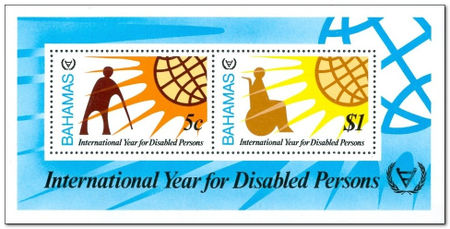 Bahamas 1981 Year of the Disabled ms.jpg
