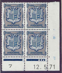 Andorra - French 1961 Definitives - Landscapes 1c .jpg