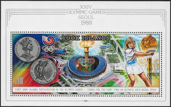 Cook Islands 1988 Summer Olympic Games Seoul a1.jpg