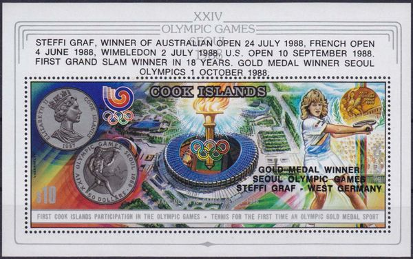 Cook Islands 1988 Summer Olympic Games Seoul a3.jpg
