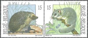 Belgium 1992 Nature - Small Mammals i.jpg