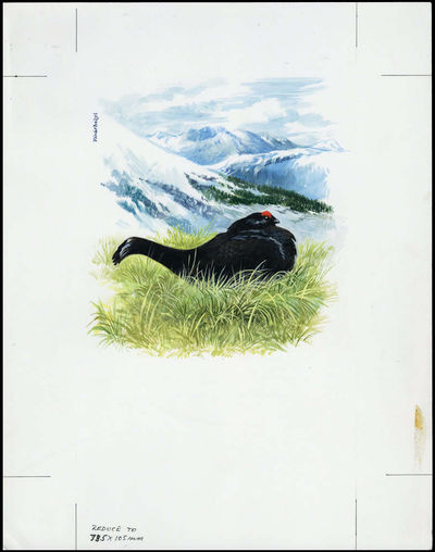 Azerbaijan 1994 The Caucasian Black Grouse d2.jpg