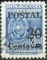 Ecuador 1952 Consular Service Stamps Overprinted for Postal Use c.jpg