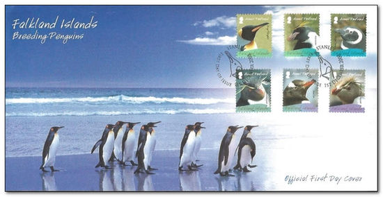 Falkland Islands 2008 Penguins fdc.jpg