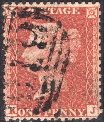 GB 1d Red Die II Plate 32 KJ.jpg