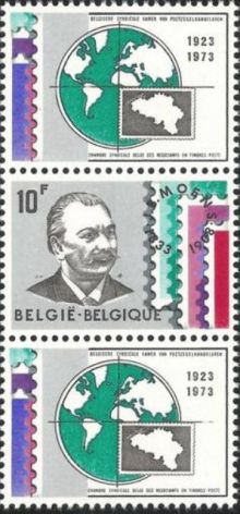 Belgium 1973 Belgian Stamp Dealers Association V4.jpg