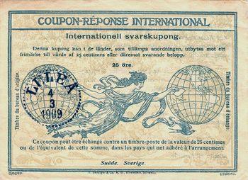 E international reply coupons