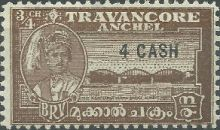 Travancore 1943 stamps of 1939 & 1941 surch b.jpg