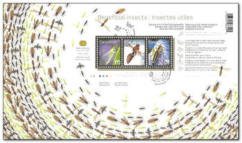 Canada 2012 Benieficial Insects fdc.jpg