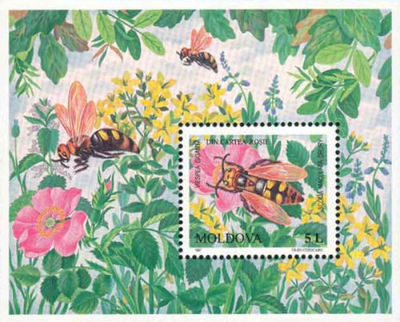 Moldova 1997 Endangered Insects ms.jpg