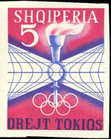 Albania 1964 Summer Olympic Games - Tokyo '64 imperforate 5.jpg