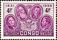 Belgian Congo 1935 Independant State, 50th Anniversary f.jpg