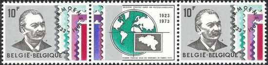 Belgium 1973 Belgian Stamp Dealers Association H2.jpg