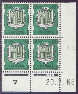 Andorra - French 1961 Definitives - Landscapes 5c .jpg