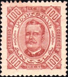 Angola 1894 Definitives - King Carlos I 100r.jpg